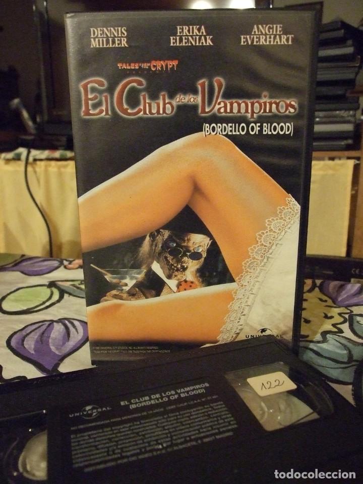 EL CLUB DE LOS VAMPIROS TALES FROM THE CRYPT - DENNIS MILLER , ERIKA ELENIAK - CIC 1998 (Cine - Películas - VHS)