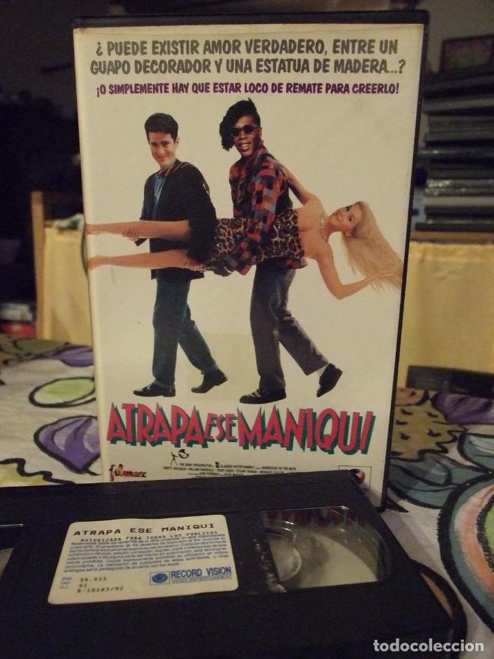 ATRAPA ESE MANIQUI - STEWART RAFFILL - KRISTY SWANSON , WILLIAM RAGSDALE - RECORD VISION 1992 (Cine - Películas - VHS)