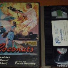 Cine: COCONUTS - OLIVIA PASCAL, MARIO ADORF - VHS. Lote 244689710