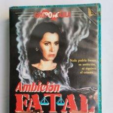 Cine: AMBICIÓN FATAL VHS STEFANIE POWERS GRUPO AGUILA. Lote 244690060