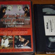 Cine: MI HIJO NO ES LO QUE PARECE - CELIA GAMEZ, ESPERANZA ROY, JOSE SAZATORNIL - VHS. Lote 244690185