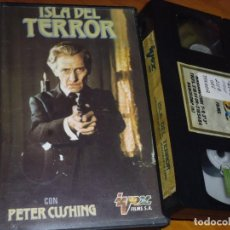 Cine: ISLA DEL TERROR - PETER CUSHING, TERENCE FISHER - VHS. Lote 244690445