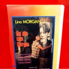 Cine: UN DIA CON SERGIO (1975) - LINA MORGAN, ANTONIO OZORES, FLORINDA CHICO. Lote 244711855