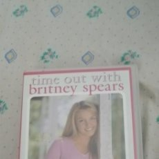 Cine: TIME OUT WITH BRITNEY SPEARS VHS. Lote 245051125