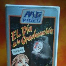 Cine: EL DIA DE LA GRADUACIÓN, SLASHER - VHS. Lote 245312330
