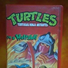 Cine: TURTLES, TORTUGAS NINJA MUTANTES - VHS. Lote 245313265