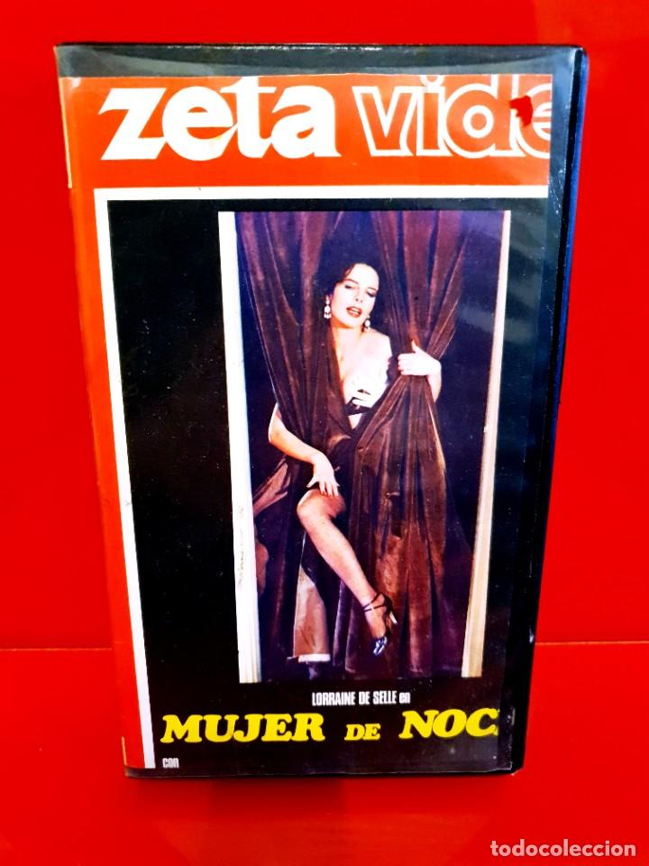 MUJER DE NOCHE (1980) - LORRAINE DE SELLE, OTELLO BELARDI - CLASIFICADA S, NUNCA EN TC (Cine - Películas - VHS)