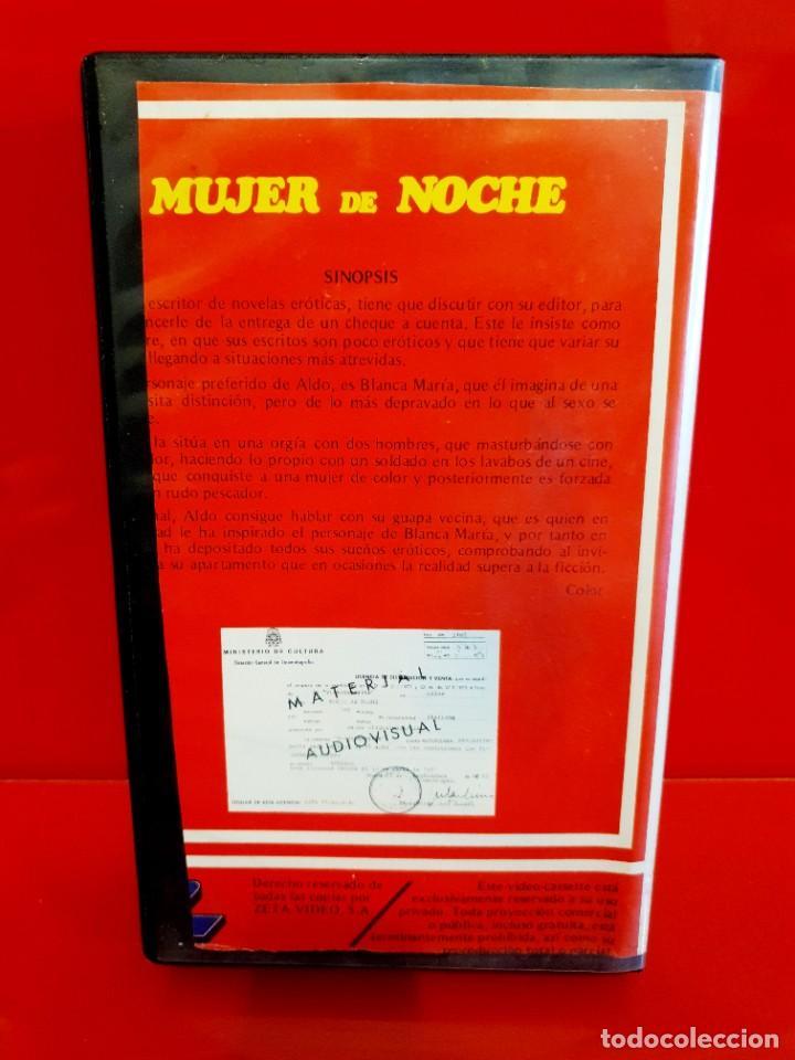 Cine: MUJER DE NOCHE (1980) - LORRAINE DE SELLE, OTELLO BELARDI - CLASIFICADA S, NUNCA EN TC - Foto 2 - 245504625