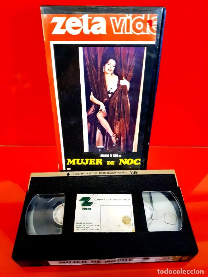 Cine: MUJER DE NOCHE (1980) - LORRAINE DE SELLE, OTELLO BELARDI - CLASIFICADA S, NUNCA EN TC - Foto 3 - 245504625