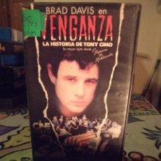 Cine: VENGANZA LA HISTORIA DE TONY CIMO - MARC DANIELS - BRAD DAVIS , ROXANNE HART - CINE 1986. Lote 245889390
