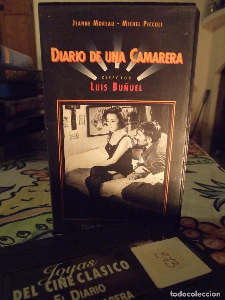 DIARIO DE UNA CAMARERA - LUIS BUÑUEL - JEANNE MOREAU , MICHEL PICCOLI - CINE CLASICO Nº 10 (Cine - Películas - VHS)