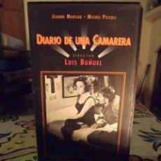 Cine: DIARIO DE UNA CAMARERA - LUIS BUÑUEL - JEANNE MOREAU , MICHEL PICCOLI - CINE CLASICO Nº 10. Lote 245890150