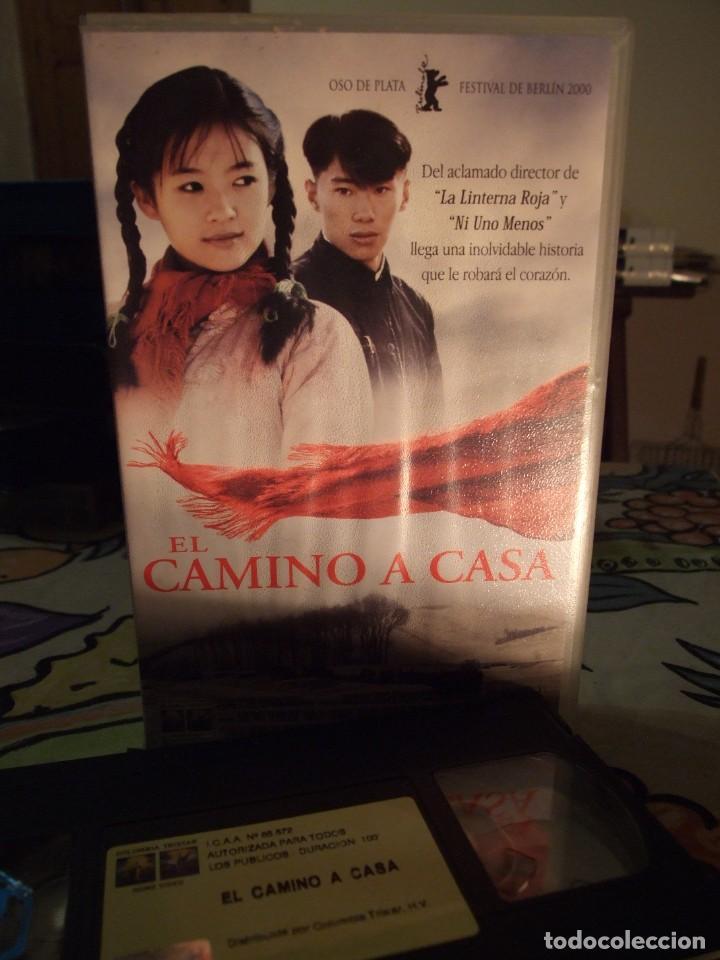 EL CAMINO A CASA - ZHANG YIMOU - ZHANG ZIYI , SUN HONGLEI - COLUMBIA 2001 (Cine - Películas - VHS)