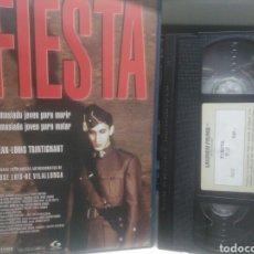 Cine: FIESTA. VHS ( PROMOCIONAL). CAJA GRANDE.. Lote 246160680