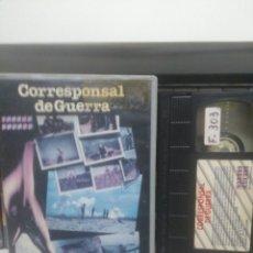Cine: CORRESPONSAL DE GUERRA. VHS. Lote 246161140