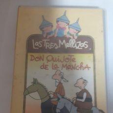 Cine: LAS TRES MELLIZAS SON QUIJOTE DE LA MANCHA. Lote 246339235