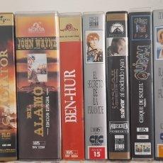 Cine: LOTE 13 CINTAS VHS PELICULAS. Lote 247527810