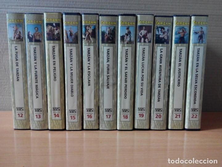 Cine: COLECCION DE 22 VIDEOS VHS DE TARZAN - Foto 2 - 247601055