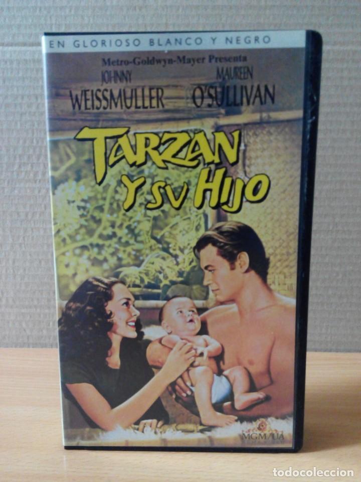 Cine: COLECCION DE 22 VIDEOS VHS DE TARZAN - Foto 4 - 247601055