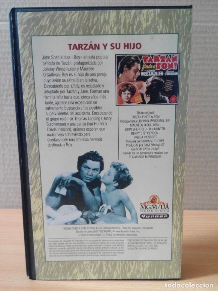 Cine: COLECCION DE 22 VIDEOS VHS DE TARZAN - Foto 5 - 247601055