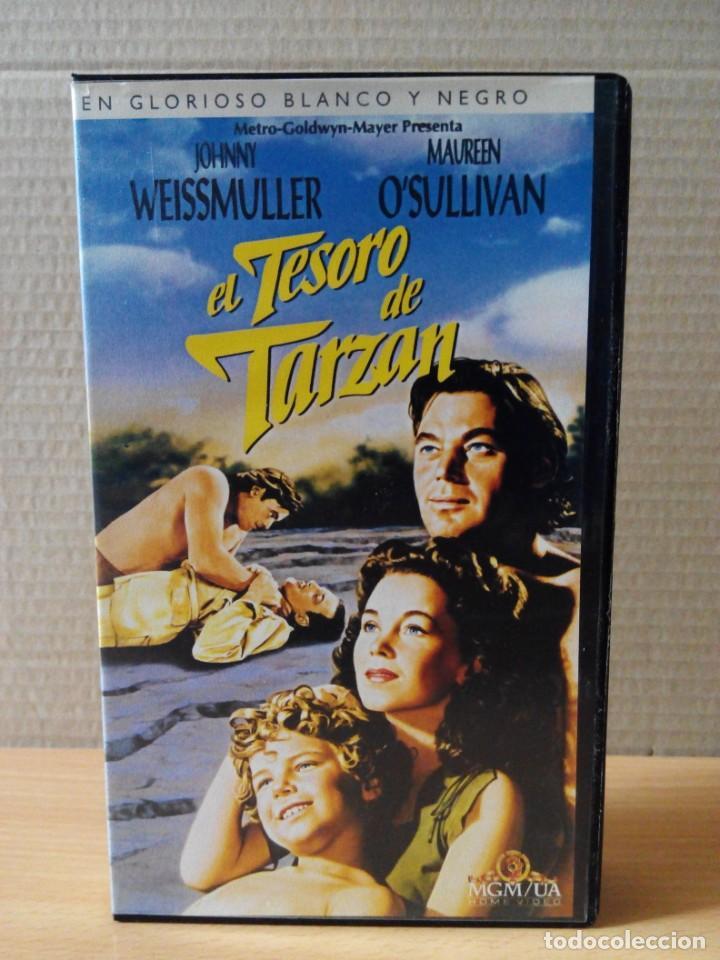 Cine: COLECCION DE 22 VIDEOS VHS DE TARZAN - Foto 6 - 247601055