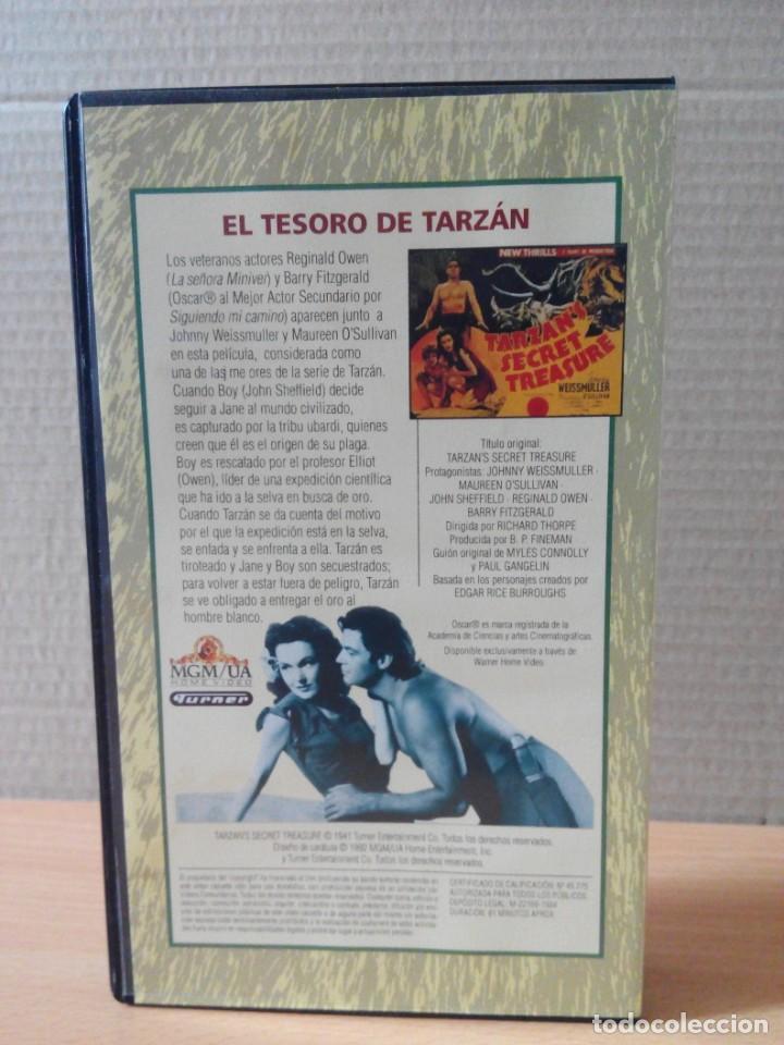 Cine: COLECCION DE 22 VIDEOS VHS DE TARZAN - Foto 7 - 247601055