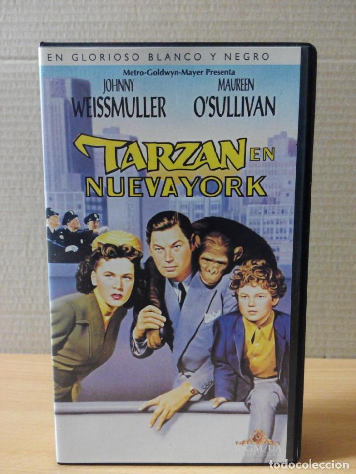 Cine: COLECCION DE 22 VIDEOS VHS DE TARZAN - Foto 8 - 247601055