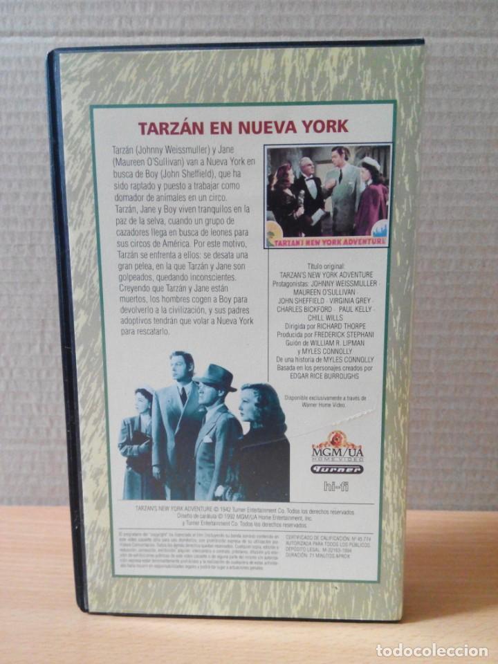 Cine: COLECCION DE 22 VIDEOS VHS DE TARZAN - Foto 9 - 247601055