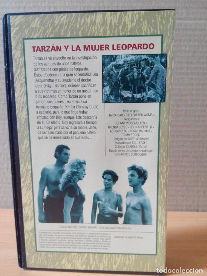 Cine: COLECCION DE 22 VIDEOS VHS DE TARZAN - Foto 11 - 247601055