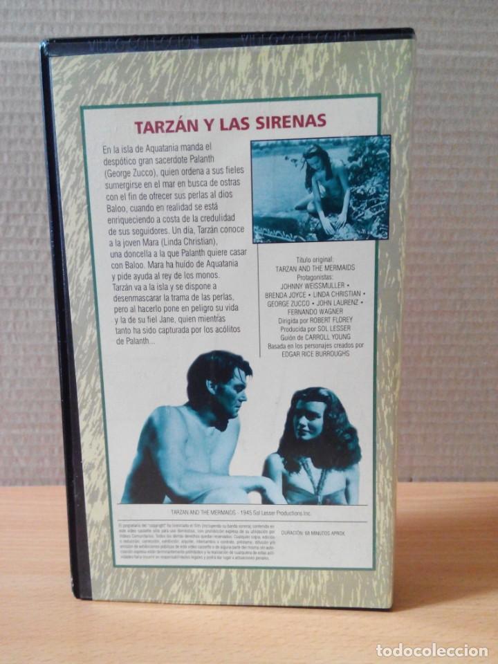Cine: COLECCION DE 22 VIDEOS VHS DE TARZAN - Foto 13 - 247601055