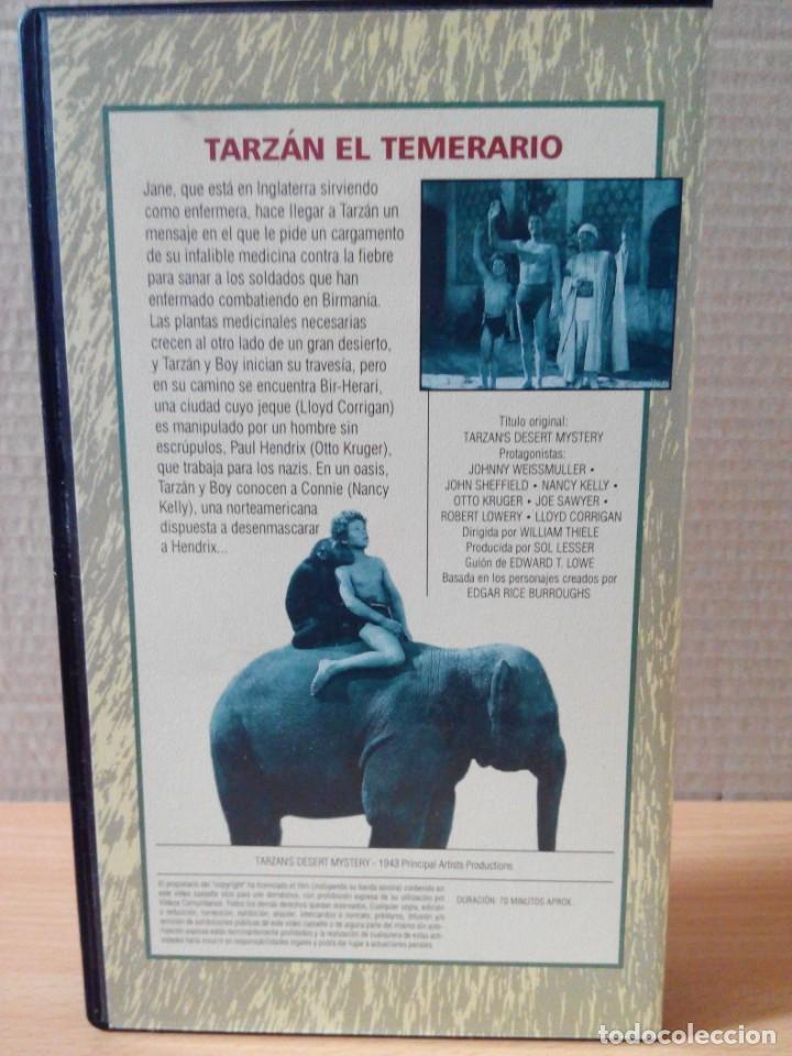 Cine: COLECCION DE 22 VIDEOS VHS DE TARZAN - Foto 15 - 247601055
