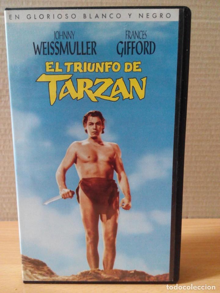 Cine: COLECCION DE 22 VIDEOS VHS DE TARZAN - Foto 16 - 247601055