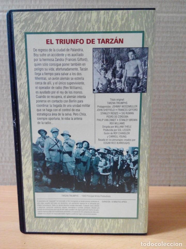 Cine: COLECCION DE 22 VIDEOS VHS DE TARZAN - Foto 17 - 247601055