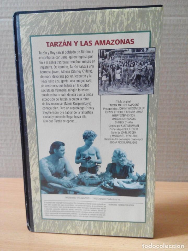 Cine: COLECCION DE 22 VIDEOS VHS DE TARZAN - Foto 19 - 247601055