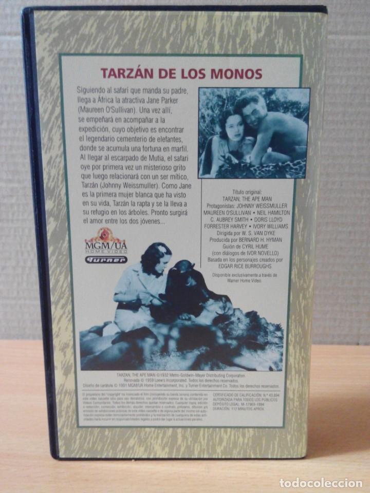 Cine: COLECCION DE 22 VIDEOS VHS DE TARZAN - Foto 22 - 247601055