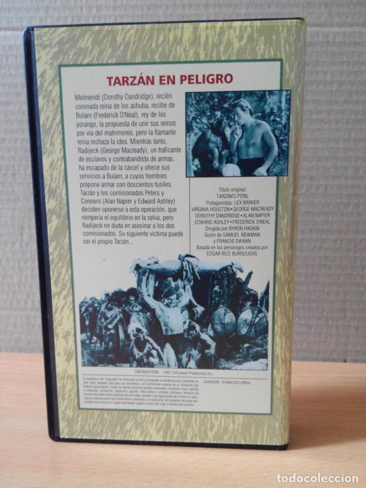 Cine: COLECCION DE 22 VIDEOS VHS DE TARZAN - Foto 28 - 247601055