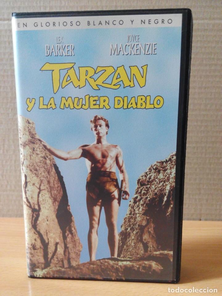 Cine: COLECCION DE 22 VIDEOS VHS DE TARZAN - Foto 29 - 247601055