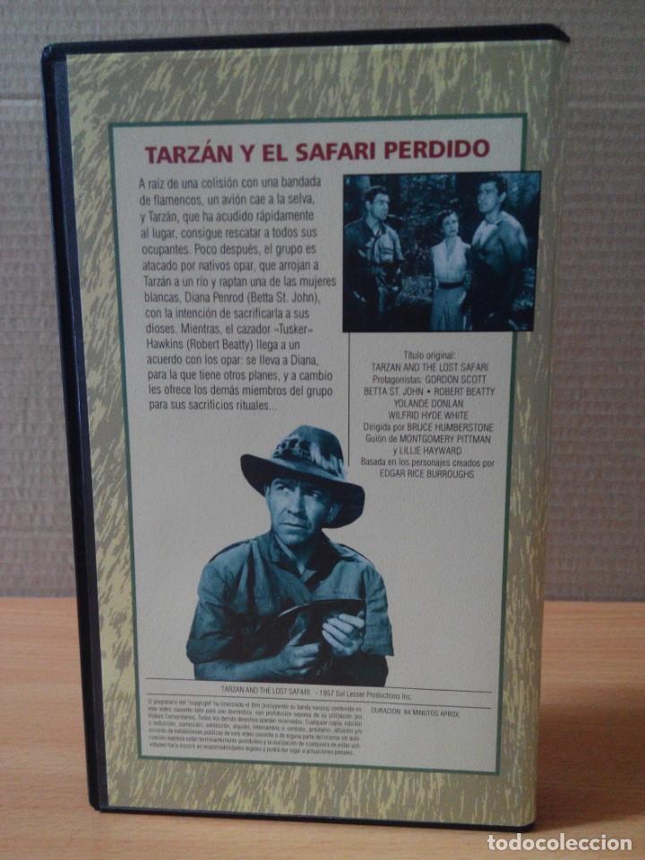 Cine: COLECCION DE 22 VIDEOS VHS DE TARZAN - Foto 36 - 247601055