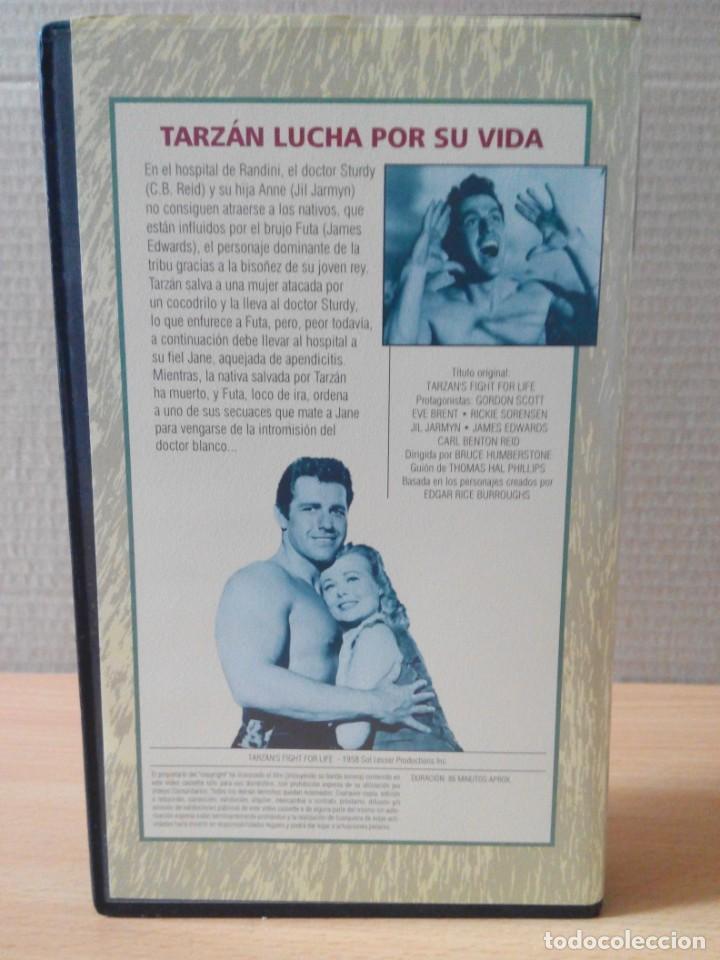 Cine: COLECCION DE 22 VIDEOS VHS DE TARZAN - Foto 38 - 247601055