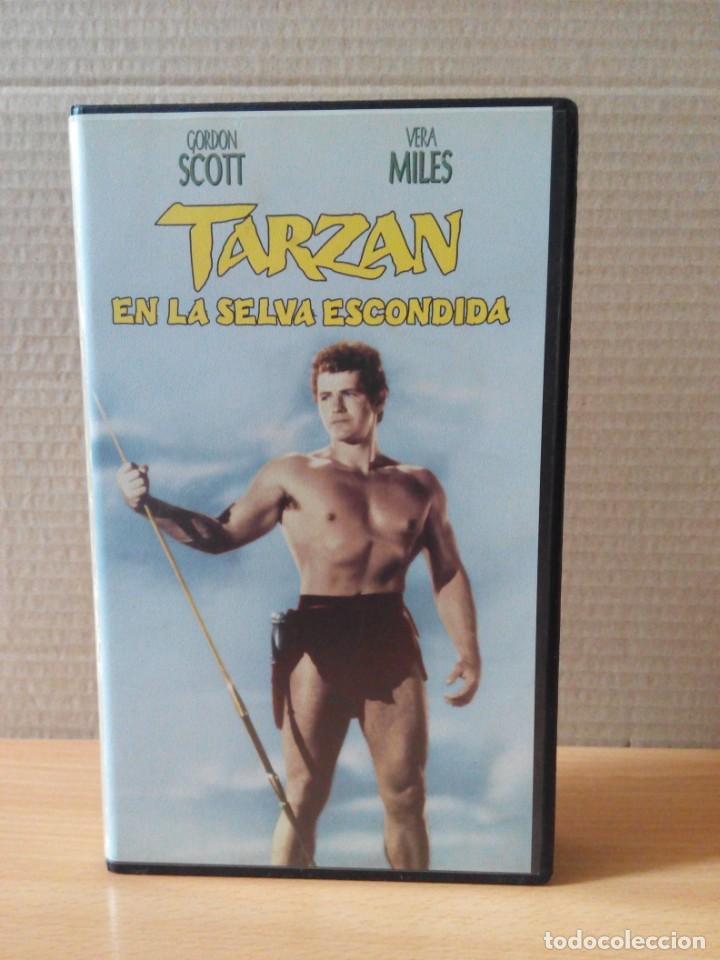 Cine: COLECCION DE 22 VIDEOS VHS DE TARZAN - Foto 43 - 247601055