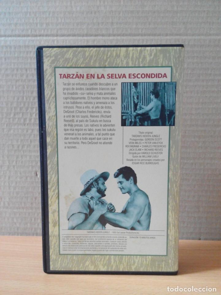 Cine: COLECCION DE 22 VIDEOS VHS DE TARZAN - Foto 44 - 247601055