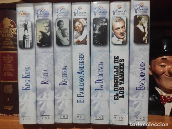 COLECCION DE 7 VIDEOS VHS. GRANDES CLASICOS FILMAX (Cine - Películas - VHS)