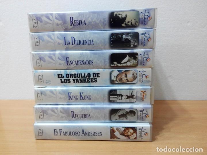 Cine: COLECCION DE 7 VIDEOS VHS. GRANDES CLASICOS FILMAX - Foto 2 - 247603735