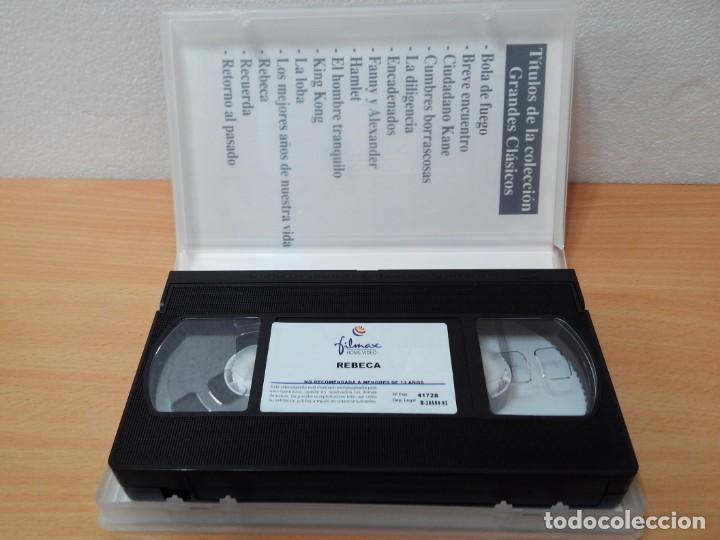 Cine: COLECCION DE 7 VIDEOS VHS. GRANDES CLASICOS FILMAX - Foto 3 - 247603735