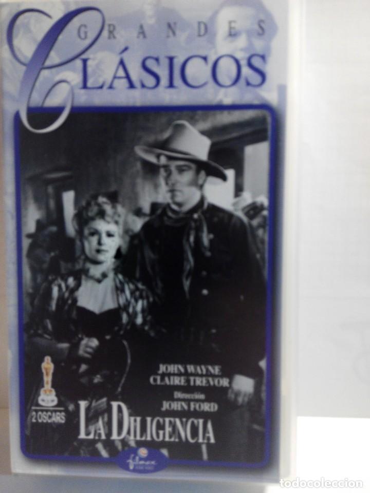 Cine: COLECCION DE 7 VIDEOS VHS. GRANDES CLASICOS FILMAX - Foto 8 - 247603735