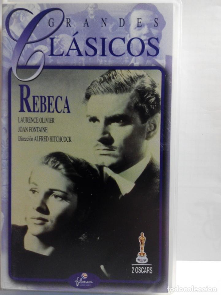 Cine: COLECCION DE 7 VIDEOS VHS. GRANDES CLASICOS FILMAX - Foto 10 - 247603735