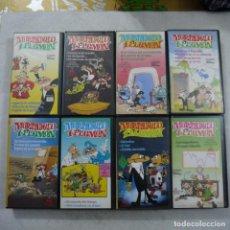 Cine: LOTE 8 VHS DE MORTADELO Y FILEMÓN - ESTUDIOS VARA. Lote 247949105