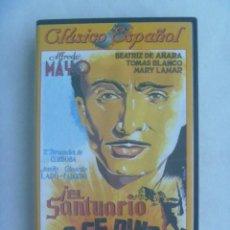 Cine: CINTA DE VIDEO CINE CLASICO ESPAÑOL: ¡ EL SANTUARIO NO SE RINDE !. ALFREDO MAYO. DIVISA EDICIONES. Lote 248010015