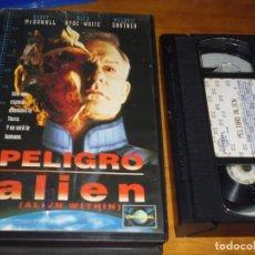 Cine: PELIGRO ALIEN / ALIEN WITHIN - TERROR - SCFI - VHS. Lote 251134990