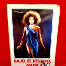 Cine: BAJO EL VESTIDO NADA (1985) - SOTTO IL VESTITO NIENTE - TERROR   GIALLO. Lote 251913680